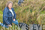 No respect: Mary Doyle, a resident of Ballygrennan Hill, Listowel where illegal dumpers are leaving electrical goods amongst other items on the public road.   Copyright Kerry's Eye 2008