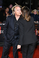 "LONDON, UK. October 08, 2019: Don Johnson and Ana de Armas arriving for the ""Knives Out"" screening as part of the London Film Festival 2019 at the Odeon Leicester Square, London.<br /> Picture: Steve Vas/Featureflash"