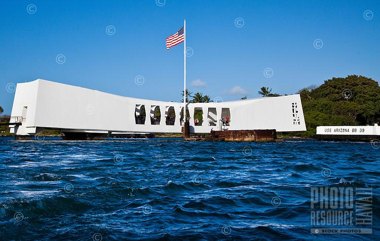 The USS Arizona Memorial, Pearl Harbor, Oahu
