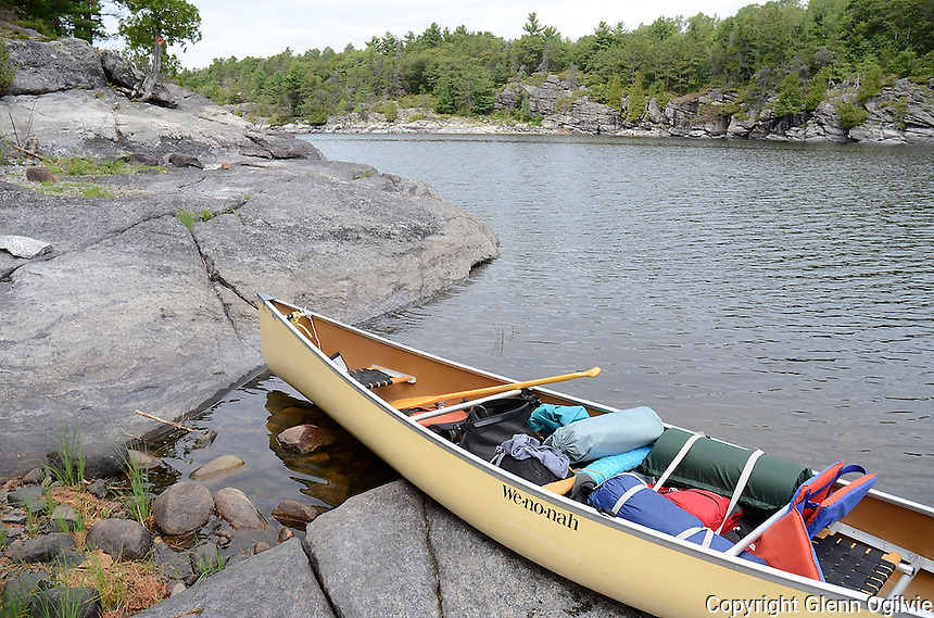 Canoed West side of French River with Naz, Jordan, Dan and Glenn