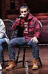 "Giuseppe Bausilio during the eduHAM Q & A before The Rockefeller Foundation and The Gilder Lehrman Institute of American History sponsored High School student #EduHam matinee performance of ""Hamilton"" at the Richard Rodgers Theatre on December 11, 2019 in New York City."
