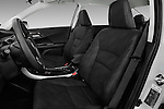 Front seat view of 2017 Honda Accord Hybrid 4 Door Sedan Front Seat  car photos