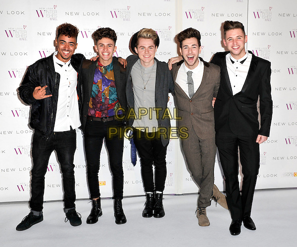 LONDON, ENGLAND - NOVEMBER 06: Kingsland Road at the New Look Winter Wishes Ball, Battersea Evolution, Battersea Park on November 6th, 2013 in London, England, UK.<br /> CAP/PP/GM<br /> &copy;Gary Mitchell/PP/Capital Pictures