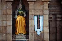 Indien, Tiruchirappalli, im Srirangam Tempel