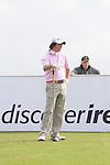 Rory McElroy after teeing off on the 16th hole during day two of the 3 Irish Open..Pic Fran Caffrey/golffile.ie