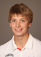 STANFORD, CA - NOVEMBER 16:  Sam Ecker of the Stanford Cardinal during men's tennis picture day on November 16, 2009 in Stanford, California.