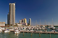 Luxury highrise condominiums<br /> Miami Beach, Florida