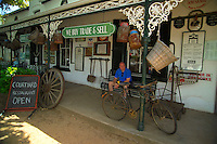 STELLENBOSCH, SOUTH AFRICA, NOVEMBER 2004. Oom Sammie se Winkel, the old general store. The Stellenbosch region is crammed with some of the best wine estates in the world. Photo by Frits Meyst/Adventure4ever.com
