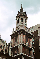 Sir Christopher Wren: St. Magnus Spire, London.