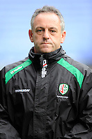 Mark Tainton, London irish Skills/Attack Coach, during the Premiership Rugby match between London Irish and Northampton Saints at the Madejski Stadium on Saturday 4th October 2014 (Photo by Rob Munro)