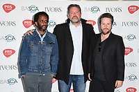 Elbow arriving for the Ivor Novello Awards 2018 at the Grosvenor House Hotel, London, UK. <br /> 31 May  2018<br /> Picture: Steve Vas/Featureflash/SilverHub 0208 004 5359 sales@silverhubmedia.com