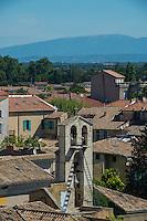 France, Provence, Orange, rooftops in Orange.