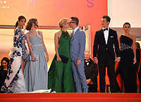 "CANNES, FRANCE. May 17, 2019: Taylor Hill, Lola Winding Refn, Liv Corfiven, Nicolas Winding Refn, Miles Teller & Keleigh Sperry at the gala premiere for ""Too Old to Die Young – North of Hollywood, West of Hell"" at the Festival de Cannes.<br /> Picture: Paul Smith / Featureflash"