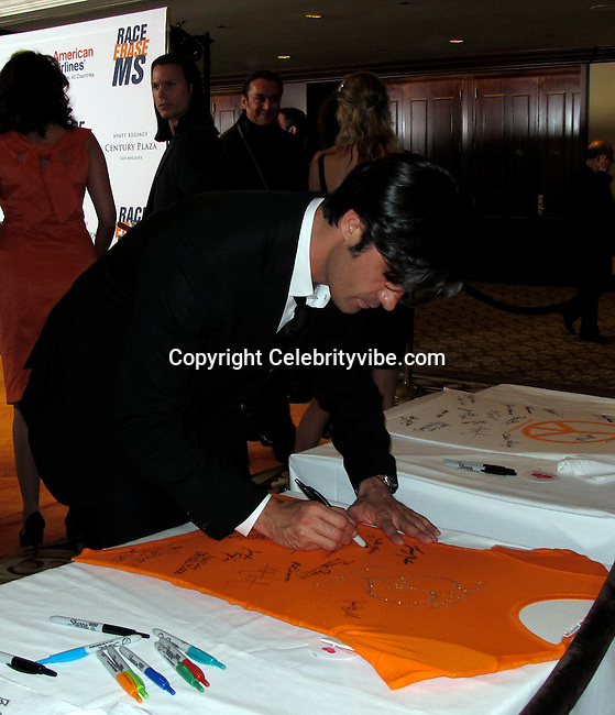 Gilles Marini..Race to Erase MS Hosted by Nancy Davis – Inside..Hyatt Regency Century Plaza Hotel..Century City, CA, USA..Friday, May 07, 2010..Photo By CelebrityVibe.com.To license this image please call (212) 410 5354; or Email: CelebrityVibe@gmail.com ; .website: www.CelebrityVibe.com.