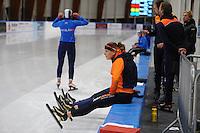 SCHAATSEN: LEEUWARDEN, 22-10-2016, Elfstedenhal, KNSB Trainingswedstrijden, Ireen Wüst, ©foto Martin de Jong