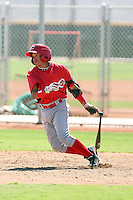 Ronald Torreyes - Cincinnati Reds - 2010 Instructional League.Photo by:  Bill Mitchell/Four Seam Images..