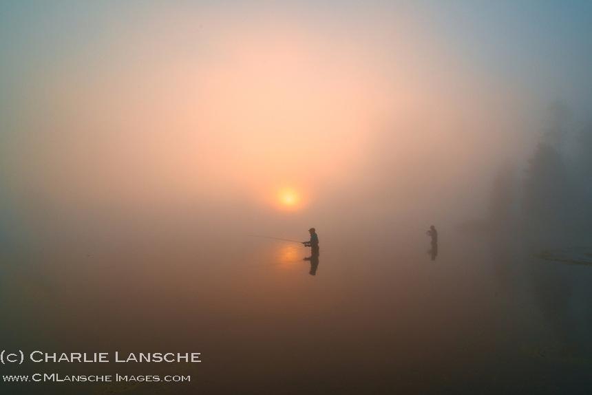 Dawn on the Henry's Fork of the Snake River, Idaho.  September 2012.