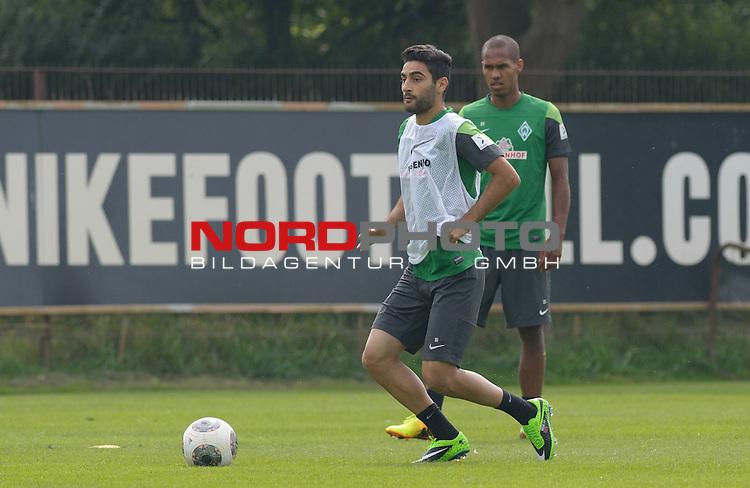 30.08.2013, Trainingsgelaende, Bremen, GER, 1.FBL, Training Werder Bremen, im Bild Mehmet Ekici (Bremen #10)<br /> <br /> Foto &copy; nph / Frisch