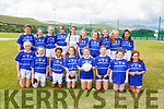 The Kerins O'Rahillys U13 team taking part in the Sandra Keane memorial Tournament in the John Mitchels Complex on Saturday