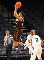 Feb. 27, 2011; Charlottesville, VA. USA;  Landon's Joe McDonald is perhaps one of the hottest point guard prospects in the Class of 2012, and one many recruiting analysts feel is potentially the premier point guard prospect in the 2012 class.. (Credit Image: © Andrew Shurtleff)