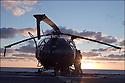 Décembre 2008/ Mer Rouge/ Vérification d'une Alouette 3.