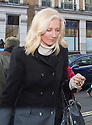 Pic shows: Joely Richardson<br /> <br /> <br /> Funeral of Roger Lloyd-Pack - &quot;Trigger&quot; from Only Fools and Horses.<br /> <br /> Mourners arriving at the service at Actors Church in Covent Garden -<br /> <br /> <br /> <br /> <br /> Pic by Gavin Rodgers/Pixel 8000 Ltd