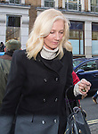 """Pic shows: Joely Richardson<br /> <br /> <br /> Funeral of Roger Lloyd-Pack - """"Trigger"""" from Only Fools and Horses.<br /> <br /> Mourners arriving at the service at Actors Church in Covent Garden -<br /> <br /> <br /> <br /> <br /> Pic by Gavin Rodgers/Pixel 8000 Ltd"""