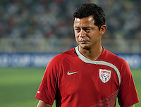 Head Coach Wilmer Cabrera.  Spain defeated the U.S. Under-17 Men National Team  2-1 at Sani Abacha Stadium in Kano, Nigeria on October 26, 2009.