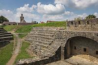 France, Aquitaine, Pyrénées-Atlantiques, Béarn, Navarrenx: Bastion des Echos //  France, Pyrenees Atlantiques, Bearn, Navarrenx