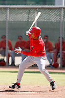 Jean Almanzar - Los Angeles Angels, 2009 Instructional League.Photo by:  Bill Mitchell/Four Seam Images..