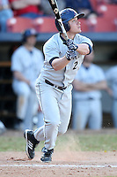 March 14, 2010:  Shortstop Ben Yoder of Bucknell University Bisons vs. UMBC in a game at Chain of Lakes Stadium in Winter Haven, FL.  Photo By Mike Janes/Four Seam Images