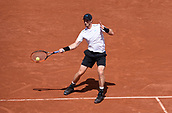 June 9th 2017, Roland Garros, Paris, France; French Open tennis championships; Mens semi-finals:  Andy Murray (gbr) during his 5 set loss to Stan Wawrinka (sui)
