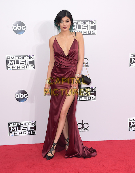 Kylie Jenner at The 2014 American Music Award held at The Nokia Theatre L.A. Live in Los Angeles, California on November 23,2014                                                                                <br /> CAP/RKE/DVS<br /> &copy;DVS/RockinExposures/Capital Pictures