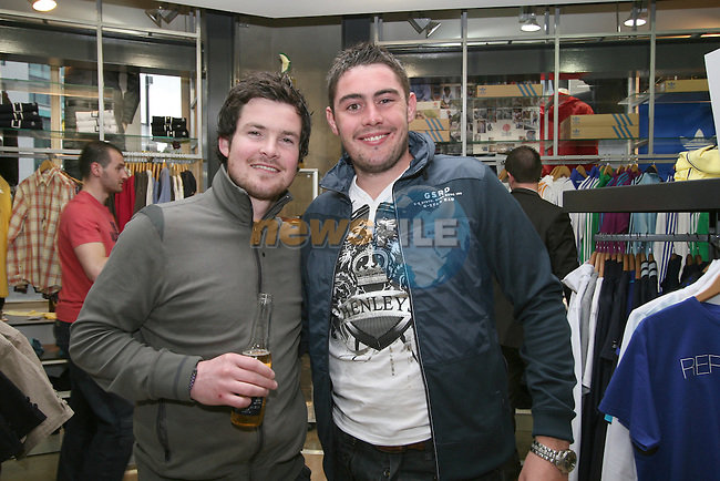 Trevor Harding and Stephen Garry at the party in Unit 1...Photo NEWSFILE/Jenny Matthews.(Photo credit should read Jenny Matthews/NEWSFILE)....This Picture has been sent you under the condtions enclosed by:.Newsfile Ltd..The Studio,.Millmount Abbey,.Drogheda,.Co Meath..Ireland..Tel: +353(0)41-9871240.Fax: +353(0)41-9871260.GSM: +353(0)86-2500958.email: pictures@newsfile.ie.www.newsfile.ie.FTP: 193.120.102.198.