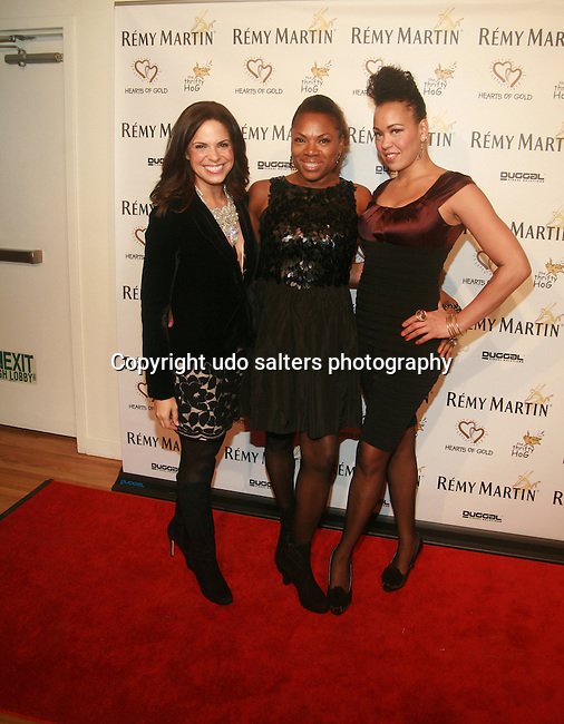 Soledad O'Brien, Rhonda Ross and Maya Azucena  Attend Hearts of Gold's 16th Annual Fall Fundraising Gala & Fashion Show Held at the Metropolitan Pavilion, NY  11/16/12