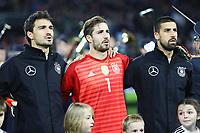 Mats Hummels (Deutschland Germany), Kevin Trapp (Deutschland Germany), Sami Khedira (Deutschland Germany) - 14.11.2017: Deutschland vs. Frankreich, Rhein Energie Stadion Koeln