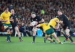 Kieran Read. All Blacks beat Australia 22-0. Eden Park, Auckland. 25 August 2012. Photo: Marc Weakley