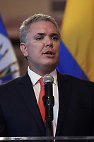 Washington, DC - September 26, 2019:  President from Colombia Ivan Duque arrives to get meeting with General Secretary of OAS Luis Almagro today Sep 26, 2019 at Organization of America State (OAS) in Washington DC. President from Colombia, General Secretary of OAS Ivan Duque, Luis Almagro  September 26, 2019. (Photo by Lenin Nolly/Media Images International)