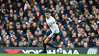 Dele Alli of Spurs during the Premier League match between Chelsea and Tottenham Hotspur at Stamford Bridge, London, England on 1 April 2018. Photo by Andy Rowland.