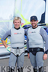 Tralee Bay Maritime Centre along with Tralee Bay Sailing Club are hosting some of the best sailors in the country in a spectacular sailing competition. Pictured Bobby Gilmore and Matt McGoven, Irish National Championships