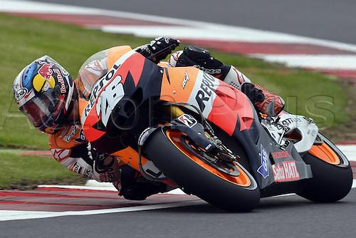 16.06.2012. Silverstone Circuit, England, UK.  MotoGP Qualification day.  Photo Dany Pedrosa