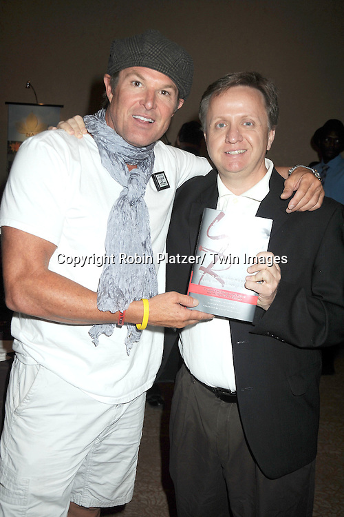 Winsor Harmon and Michel Maloney  attends the Daytime Emmy Gift Suite on June 232, 2012 at the Beverly Hilton Hotel in Beverly Hills, California. Off thewallgifts.com set up the suite.