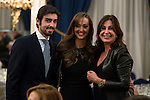 Miguel Angel Perera, Veronica Gutierrez and Carmen Martinez-Bordiu attends to delivery Paquiro bulls prize at the Ritz Hotel in Madrid. 01 October 2015.<br /> (ALTERPHOTOS/BorjaB.Hojas)