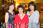 Pictured at the Bons Foundation Dinner on Thursday last in Ballyroe Heights Hotel were l-r: Mary O'Connor (Ballymacelligott) Geraldine Clifford Slattery (Dingle) and Helen Costello (Kilmoyley).