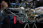 Engine detail during the tests for the new Formula One Grand Prix season at the Circuit de Catalunya in Montmelo, Barcelona. February 19, 2020 (ALTERPHOTOS/Javier Martínez de la Puente)