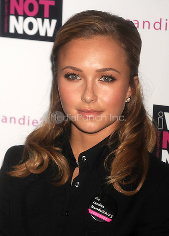 Hayden Panettiere at the Candie's Foundation Town Hall Meeting on Teen Pregnancy Prevention at TheTimesCenter in New York City. May 6, 2009. Credit: Dennis Van Tine/MediaPunch