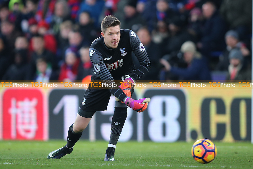 Wayne Hennessey during Crystal Palace vs Everton, Premier League Football at Selhurst Park on 21st January 2017