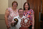 Elizabeth Doyle, Chairperson  and Jane Coyle, Treasurer Drogheda Special Olympics with Senior Athlete of the Year, Andrew Kierans at the Special Olympics Awards Night in the Westcourt Hotel...Photo NEWSFILE/Jenny Matthews.(Photo credit should read Jenny Matthews/NEWSFILE)....This Picture has been sent you under the condtions enclosed by:.Newsfile Ltd..The Studio,.Millmount Abbey,.Drogheda,.Co Meath..Ireland..Tel: +353(0)41-9871240.Fax: +353(0)41-9871260.GSM: +353(0)86-2500958.email: pictures@newsfile.ie.www.newsfile.ie.FTP: 193.120.102.198.