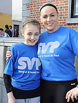 Leah and Tracy Taaffe who took part in the Saint Vincent de Paul sponsored 5Km run. Photo: Colin Bell/pressphotos.ie