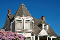 Victorian house in the historical Fairhaven district of Bellingham, Washington state, USA